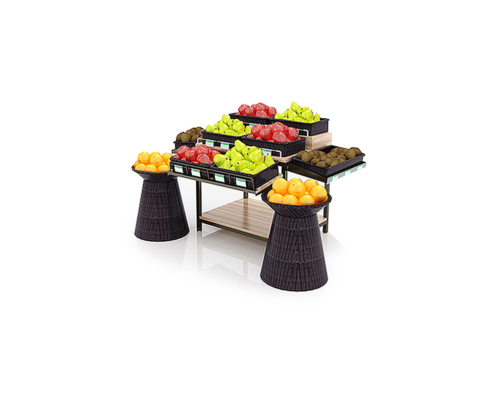 Large Capacity Fruit Display Rack