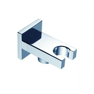 Flat Square Shower Holder With Water Outlet