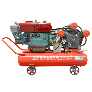 Diesel Engine Drive Piston Air Compressor with Changchai