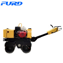 Cheapest Price for Walk-Behind Double Drum Roller,Manual Roller Compactor,Walk Behind Roller Manufacturer in China 0.8 Ton Mini Manual Roller Compactor supply to China Taiwan Factories