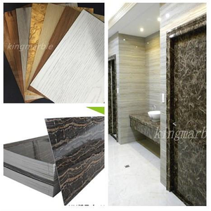 Best quality Low price for Pvc Shower Wall Marble Panel Interior decoration UV marble Board supply to Liberia Supplier