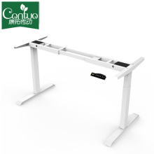 100% Original Factory for Two Legs Standing Desk 2019 Best Selling Electric Height Adjustable Desk export to United States Factory