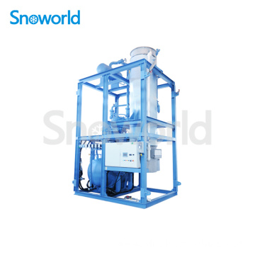 Snoworld High Standard Tube Ice Machine Design