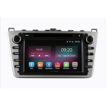 "Quality Inspection for Car Radio Gps For Kia Free shipping 8"" radio Mazda 6 2011 export to French Polynesia Supplier"
