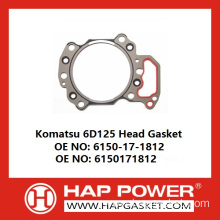 Hot New Products for China Head Gasket,Metal Head Gasket,Cylinder Head Gasket,Engine Head Gasket,Tractor Head Gasket Manufacturer Komatsu 6D125 Head Gasket 6150-17-1812 export to Gabon Supplier