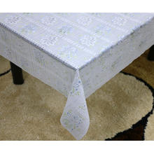 dryer Printed pvc lace tablecloth by roll