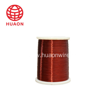 Class H enameled copper wire for electrical