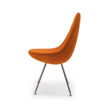Drop Side dining Chair by Fritz Hansen