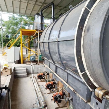 Continuous Waste Tyre to Oil Plant