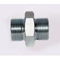Metric 24 Degrees Hydraulic Straight Nipple Adaptor