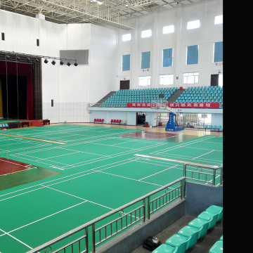 PVC Badminton Flooring With BWF