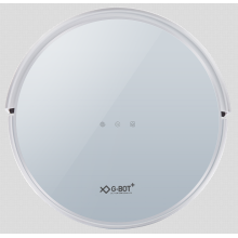 Low-profile intelligent robotic vacuum cleaner