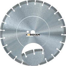 300mm Asphalt Blade with protective segment