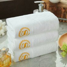 Cotton towel set for star chain hotels