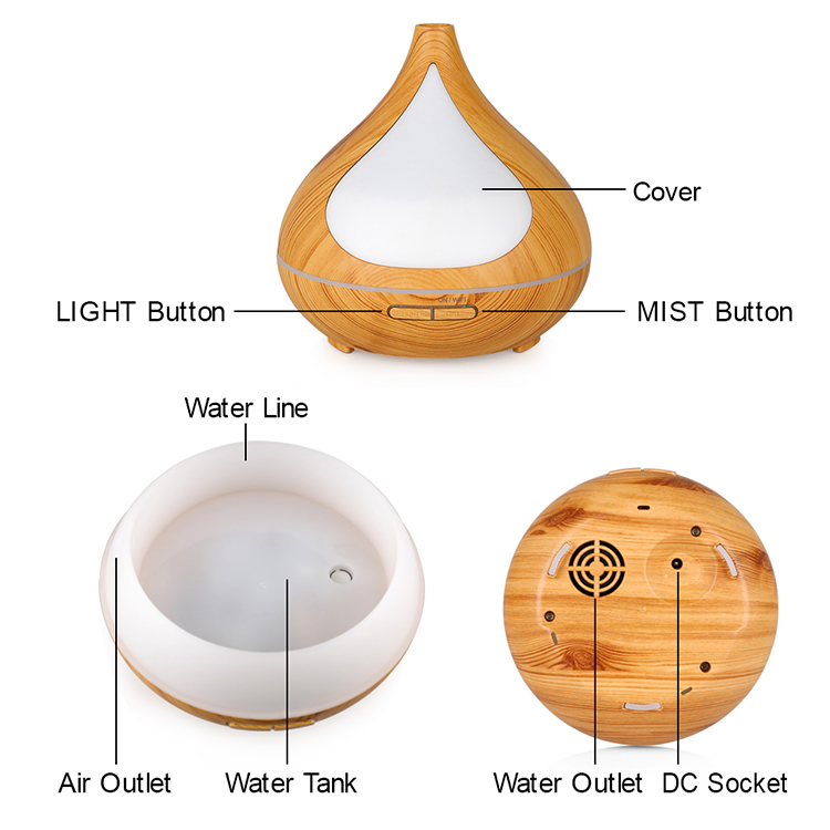 smart ultrasonic humidifier