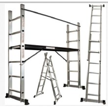 FOLDABLE  SCAFFOLD STEP LADDER