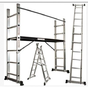 2X7 steps scaffold ladder