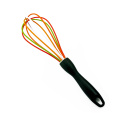 colorful wire silicone coated egg beater