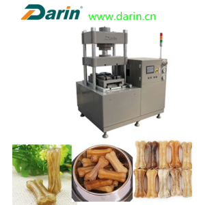 Professional Design for China Pet Snack Processing Machine,Dog Snacks Making Machine,Rawhide Bones Making Machine Manufacturer and Supplier Dog chews rawhide bone pressing machine export to South Africa Suppliers