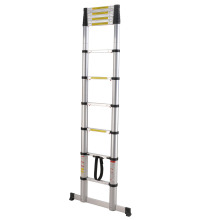 Low Cost for Best Aluminum Telescopic Ladder,Single Side / Double Side Telescopic Ladder Manufacturer in China 5.0 meters aluminum telescopic ladder export to North Korea Factories