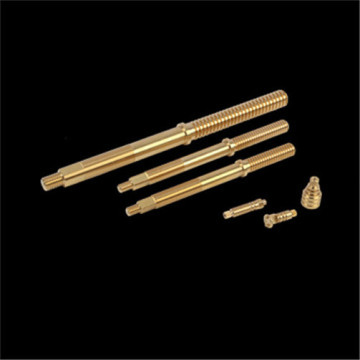 CNC valve Rod in Brass