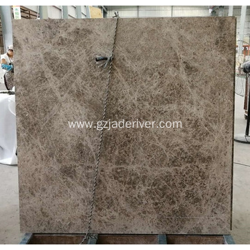 Dora Cloud Grey Mabababang Marble Slab Tile