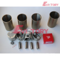 excavator TD42T engine gasket bearing piston ring liner