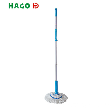 Wenzhou Factory Flexible Microfiber Dust Mop for Floor