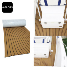 Light Brown + Black Marine Yacht Boat EVA Foam Teak Flooring