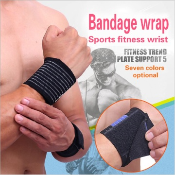 Workout fitness wrist wraps weight lifting custom