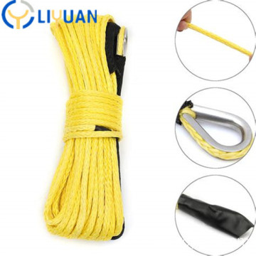 UHMWPE synthetic winch rope