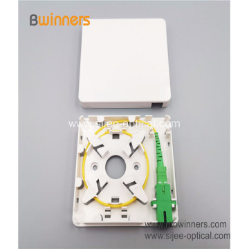 Factory Supply 1 core Optical Fiber FTTH SC/LC Fiber Socket Faceplate