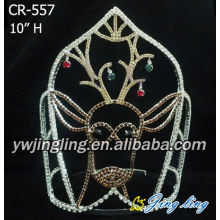 Rhinestone Christmas Pageant Crowns CR-557