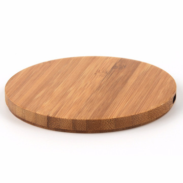 Wireless Charger Qi Charging Pad wood
