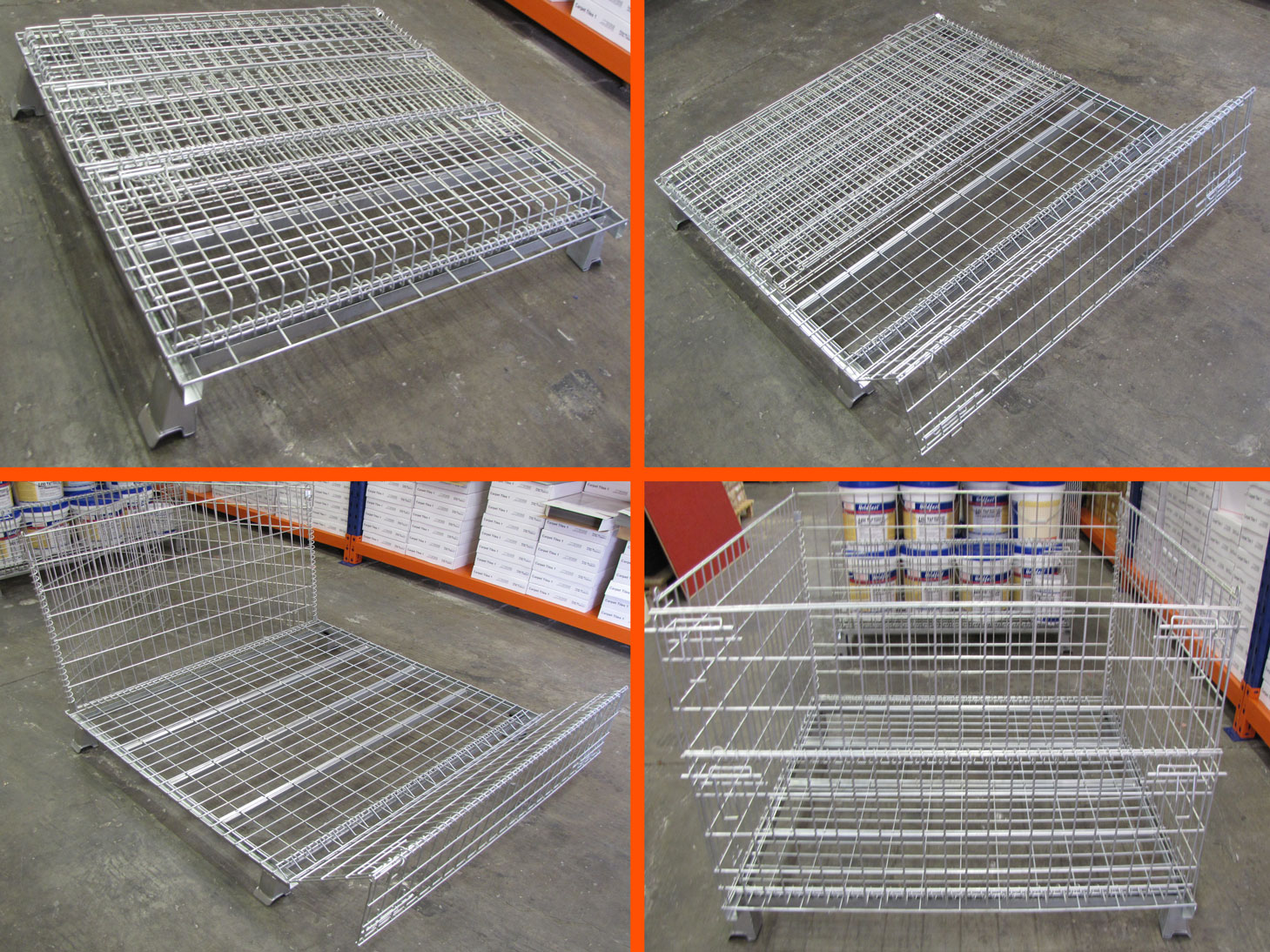 Stackable Pallet Cages