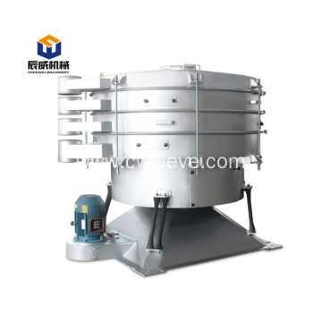 Sugar salt food particle filter tumbler swing screen