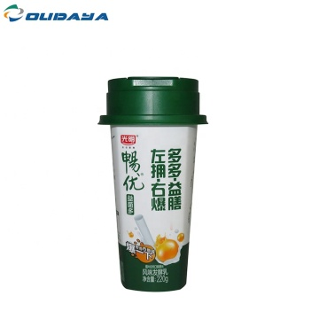 food grade yogurt container plastic for seal foil