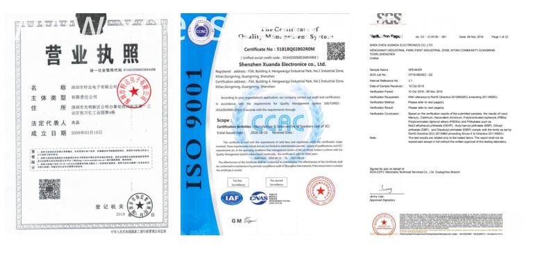 XDEC speaker certifications
