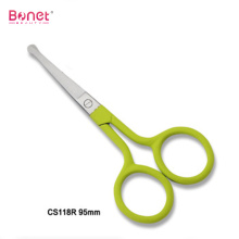 Good Quality for Soft-Touching Handle Manicure Scissors,Pedicure Scissors,Nail Trimming Scissors Manufacturers and Suppliers in China Soft-touching coating round handle manicure scissors supply to India Manufacturers