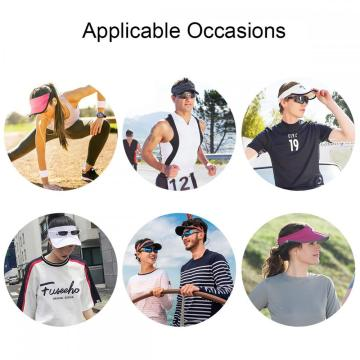 BLURBE Women Sun Visor Cap Trucker Dad Hat