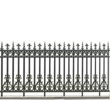 High Quality for Courtyard Fence Flame Flower Aluminum Fence export to Netherlands Supplier