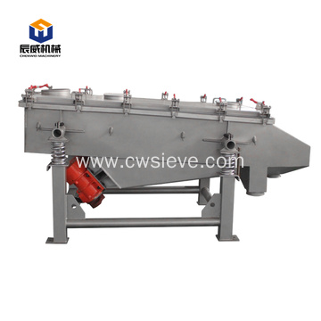 Best green food powder linear screen equipment