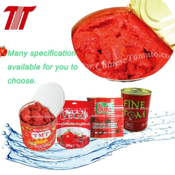 Vaccumed Can Tomato Paste