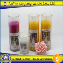 Special for Religious Glass Jar Candle Catholic church praying 7 day jar candle supply to Kiribati Importers