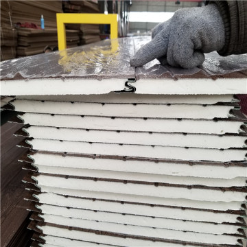 Outdoor Insulation faux brick sandwich panel