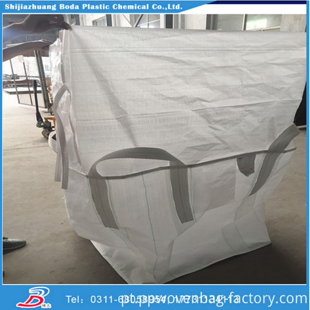 1500kg top skirt anti-uv Agriculture use plastic super sacks with 100% virgin rawmaterial