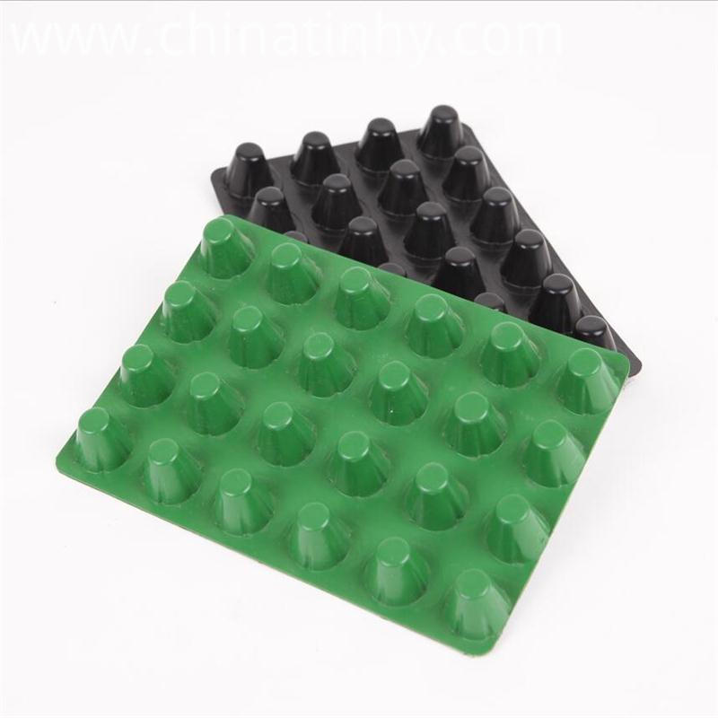 16mm Green And Black Dimple Drainag Board