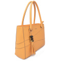 Custom Fashion Women Dating Leather Tote Bag