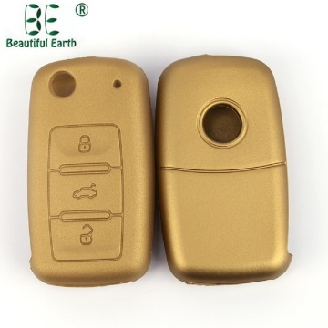 Bra kvalitet Vw Skoda Silikon Car Key Cover