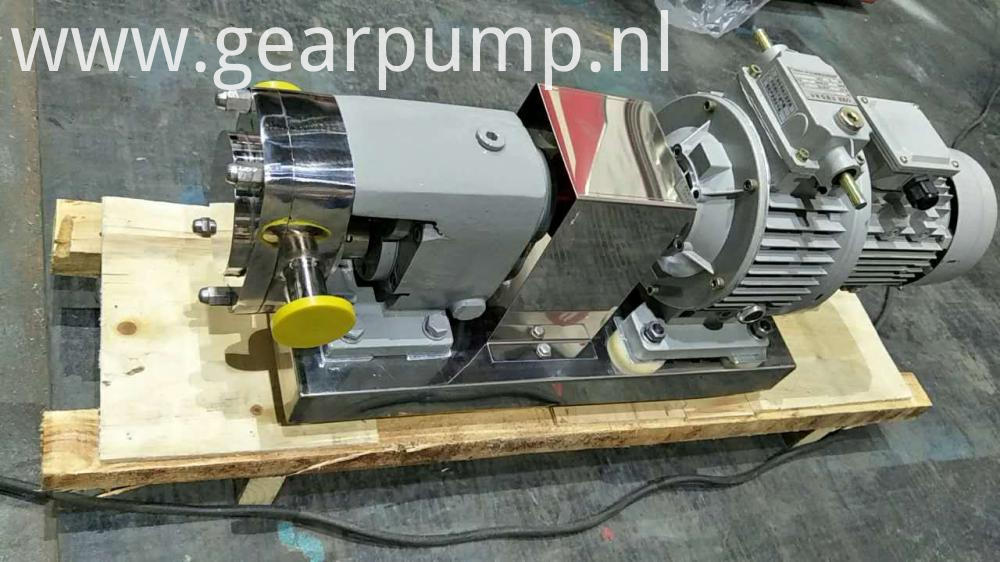 sanitary lobe pump